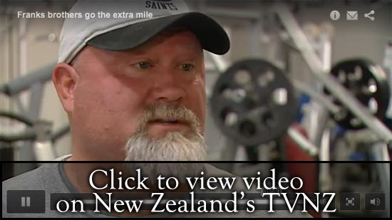 Ed Cosner's TVNZ interview regarding training Ben and Owen Franks