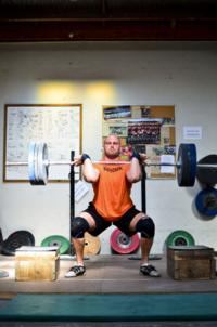 Ben Franks catching 120kg