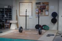 Platform at Gravity Gym/Eastside Barbell in Christchurch NZ